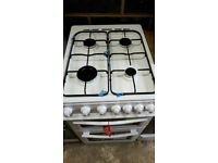 White Swan A Class Gas Cooker With Double Oven In New Condition