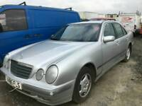 Mercedes e class 220 automatic parts doosr alloy wheels interior seats