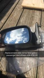 Side mirrors ford galaxy