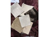 Good quality fabric samples suitable for patchwork, cushions, prices variable