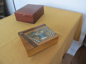 Coffrets décoratifs et utiles