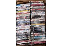 75 DVDS, Horror, Comedy, Action, Full Working Order - 4 Bundles to choose