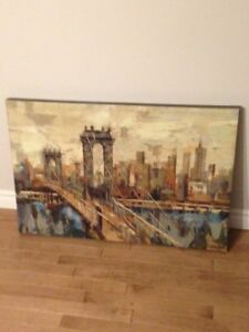 Wrapped canvas art for sale