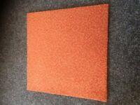 Used Carpet tiles high quality, 400 of these 500mm x 500mm