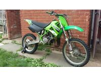 2002 KX 100 New Rebuild top and bottom not a shita sensible offers