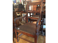 Wooden Armchair , lovely carved detail . Good condition. Free local delivery. Must be seen.....
