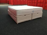 Super King size bed and mattress (can deliver)