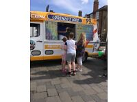 SOFT ICE CREAM VAN FOR HIRE
