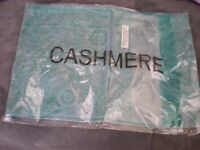 new still sealed HIMALAYAN CASHMERE SCARF