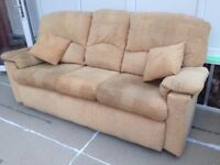 #Reduced for Quick Sale# 3 Seater Sofa Gplan Very Comfortable Good Condition