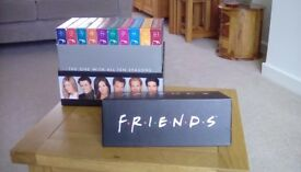 Friends. All 10 series in presentation case. Complete. Excellent condition. £15.