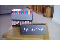 Friends. All 10 series in presentation case. Complete.