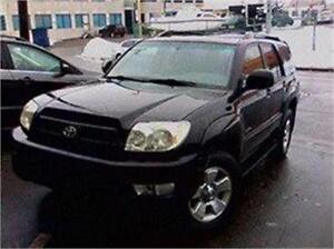2005 TOYOTA 4RUNNER LIMITED 9880$ FINANCEMENT MAISON 100% APPROU