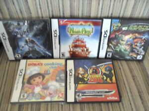 Nintendo DS Games and 3DS Game