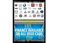 Are you looking for a CAR or VAN? we have over 150 in stock and can arrange £0 DEPOSIT FINANCE TOO