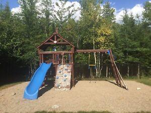 Cedar Playset /swing set