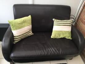 2 seater sofa and single chair