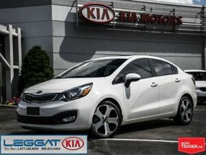 2013 Kia Rio SX - No Accidents, VERY Low KM, Fully Loaded!