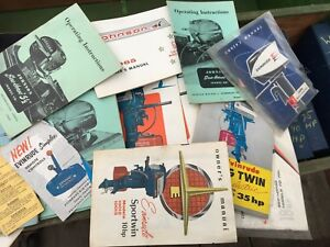 Vintage Antique Outboard Boat Motor Manuals and Service