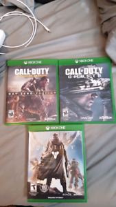 Call of Duty Games and Destiny - Xbox One