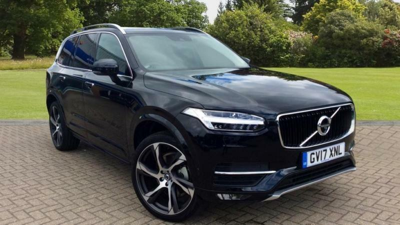 2017 volvo xc90 d5 powerpulse momentum 5dr awd automatic diesel estate in blackburn. Black Bedroom Furniture Sets. Home Design Ideas