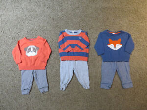 Gently Used Lot Baby Boy Clothing 0-3 Months