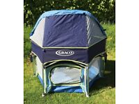 Graco play pen with uv canopy in good condition