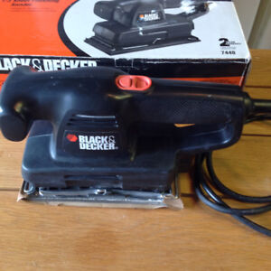 Black and Decker sander and drill