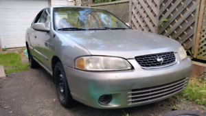 Nissan Sentra 2001, 1.8l, fully working car