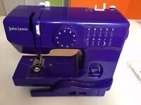 John Lewis 'JL mini' sewing machine – needs minor repair