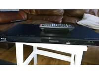 Panasonic blue ray disc and dvd player