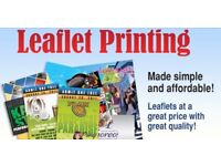 Leaflet Printing, Design and Distribution