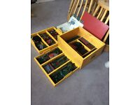 Vintage Meccano in bespoke storage box