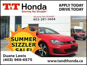 2015 Volkswagen Golf GTI 5-Door Autobahn *Low KMS, NAVI, Leather