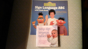 2 ASL Sign Language Books for Children _ ABC & Baby Signing