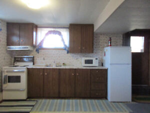 Furnished Apt for Rent in Ignace  401 Main St.