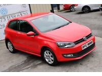 LATE 2011 VOLKSWAGEN POLO 1.2 MATCH 59 BHP 3DR HATCHBACK (FINANCE & WARRANTY AVAILABLE )