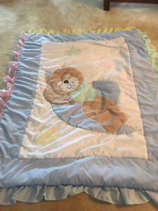 Crib quilt for boy/girl