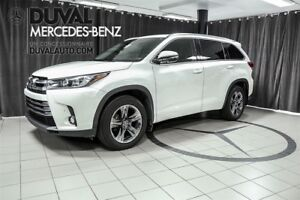 2017 Toyota Highlander Limited / Cuir+Nav+Toit / 7 Passagers