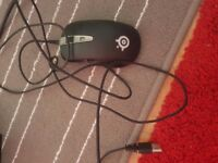 Gaming mouse 2 for a price of 1. Steel series and Razer mouses. BIG BRAND for CHEAP