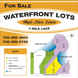 LAKE SHORE PROPERTY FOR SALE ON FOUR MILE LAKE IN NORTH BAY