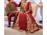 Authentic Zebaish London bridal outfit rrp £3500
