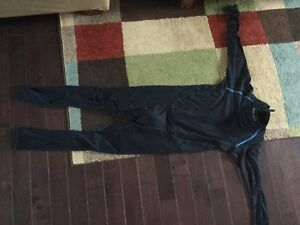Hockey compression one piece suit