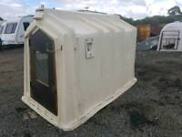 Calf rehearing shelter hutch or pig sheep shelter tractor