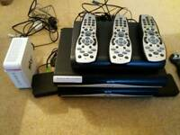 Sky+ HD boxes & controllers