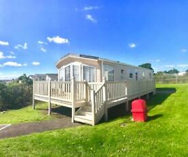 Beautiful caravan for sale on beautiful pitch ! Deposits from 10% north east coast