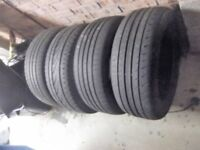 4 tyres 205/ 55/ 16