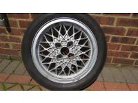 VW BBS classic 6Jx15 inch alloy wheel 4x100 fitting
