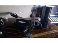 Xbox 360 Elite Console 120GB & Wireless Adapter (No Controller)