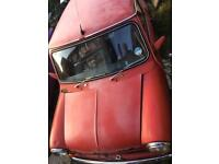 Mini city 1000 cc red h reg classic vintage retro restoration project